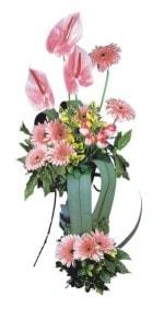 Bursaya çiçek siparişi vermek  Pembe Antoryum Harikalar Rüyasi