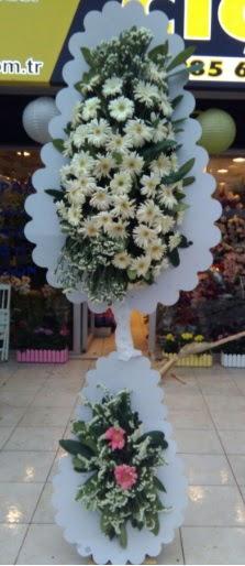 Çift katlı düğün nikah açılış çiçeği  Bursaya çiçek yolla