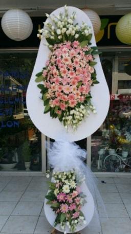 Çift katlı özel şahane sepet çiçeği  Bursaya çiçek yolla