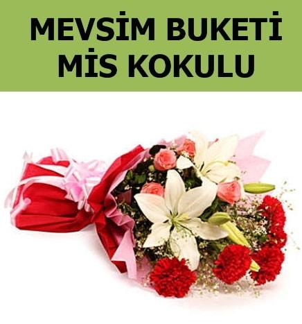 Karışık mevsim buketi mis kokulu bahar  Bursadaki çiçekçi firmaları