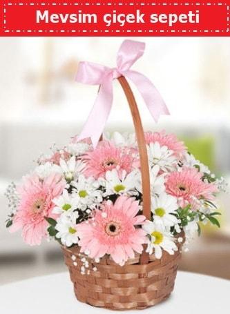 Mevsim kır çiçek sepeti  Bursa çiçek gönderimi
