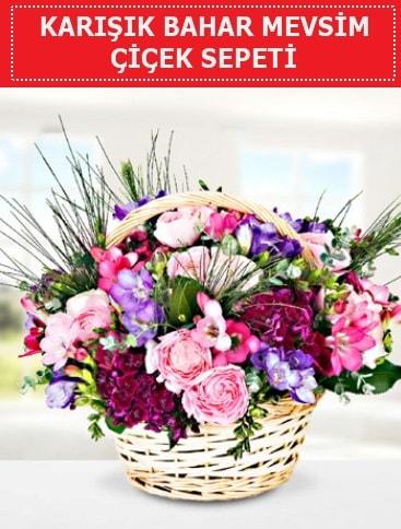 Karışık mevsim bahar çiçekleri  Bursadaki çiçekçi firmaları