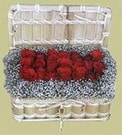 Bursa çiçek gönder  Sandikta 11 adet güller - sevdiklerinize en ideal seçim
